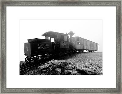 Old Locomotive Framed Print by Sebastian Musial