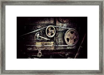 Old Machine Framed Print