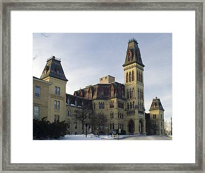 Old Main At Woods Wisconsin Framed Print
