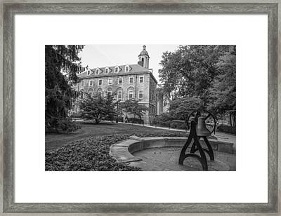 Old Main Penn State University  Framed Print