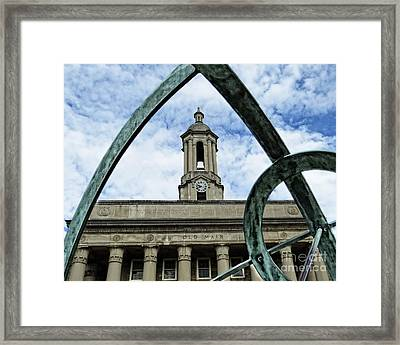 Old Main Thru The Turtle Framed Print