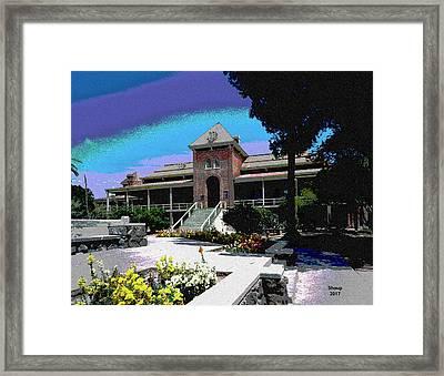Old Main University Of Arizona Framed Print