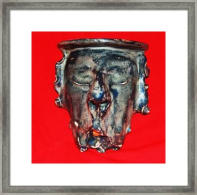 Old Man Framed Print by Alexander Almark