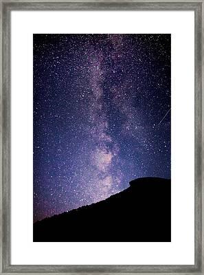 Old Man Milky Way Memorial Framed Print