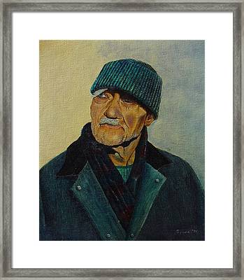 Old Man Of The Sea Framed Print by Ron Sylvia