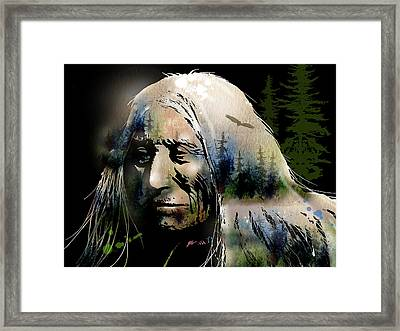 Old Man Of The Woods Framed Print by Paul Sachtleben
