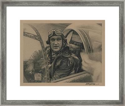 Old Man River Framed Print