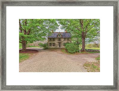 Old Manse Concord, Massachusetts Framed Print