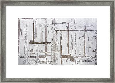 Old Marking Tapes Framed Print