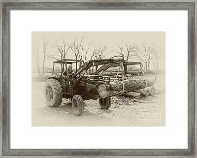 Old Massey 185  Framed Print by Rob Hawkins