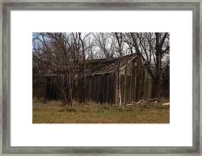Old Maydale Barn Framed Print