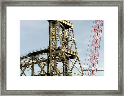 Old Memorial Bridge Framed Print