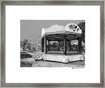 Old Mesilla Gazebo Framed Print