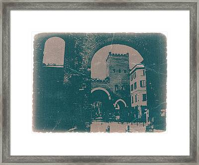 Old Milan Framed Print