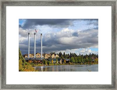 Old Mill District Framed Print