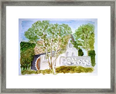 Old Mill House Framed Print