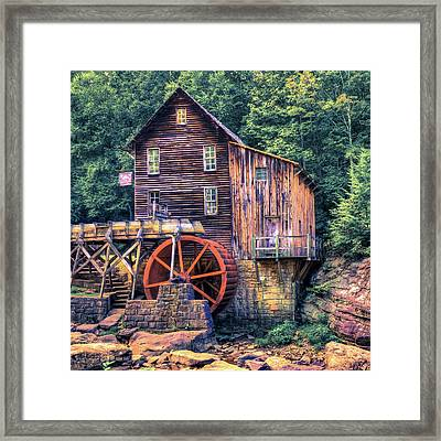 Old Mill In Beckley West Virginia Framed Print