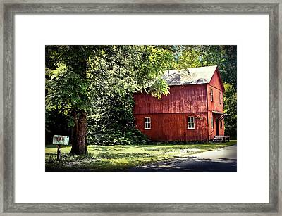 Old Mill In West Virginia Framed Print