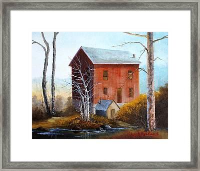 Old Mill Framed Print