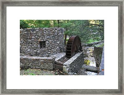Old Mill Near Gladwyne Pa Framed Print by Bill Cannon