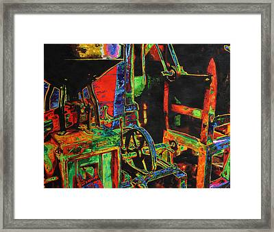 Old Mill Framed Print by Noel Cole