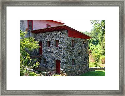 Old Mill Of Guilford Annex Framed Print by Kathryn Meyer