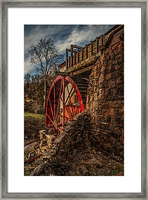Old Mill Of Guilford II Framed Print by Pam DeCamp