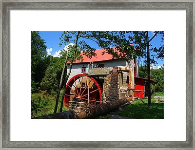 Old Mill Of Guilford Framed Print by Kathryn Meyer