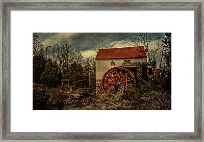Old Mill Of Guilford Framed Print by Pam DeCamp