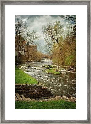 Old Mill On The River Framed Print