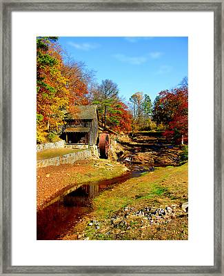 Old Mill Framed Print by Ralph  Perdomo