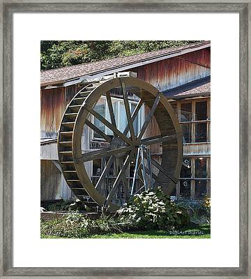 Old Mill Store Entry To Caverns Framed Print