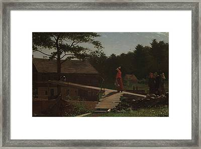 Old Mill  Framed Print by Winslow Homer