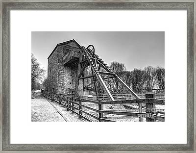 Old Mine Framed Print