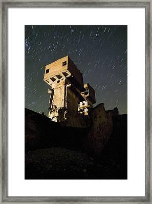 Old Mine Framed Print by Andre Goncalves