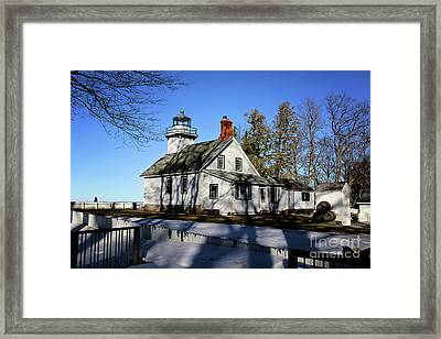 Old Mission Lighthouse Framed Print