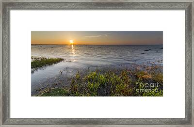 Old Mission Peninsula Shoreline Framed Print by Twenty Two North Photography
