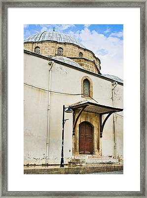 Old Mosque Framed Print by Tom Gowanlock