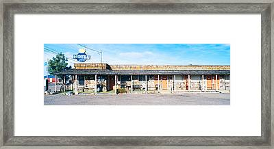 Old Motel In Tonopah, Nevada Framed Print by Panoramic Images