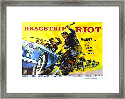 Old Movie Poster. Framed Print