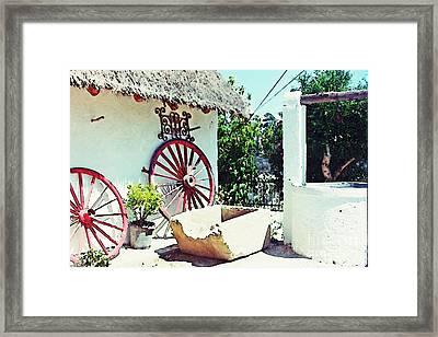 Old Murcia Framed Print by Sarah Loft