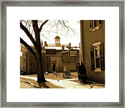 Old New Castle Framed Print