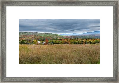 Old New England Farm 2016 Framed Print
