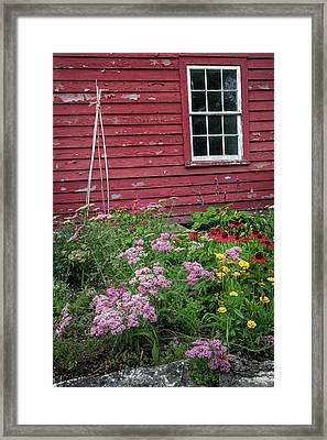 Old New England Summer Framed Print