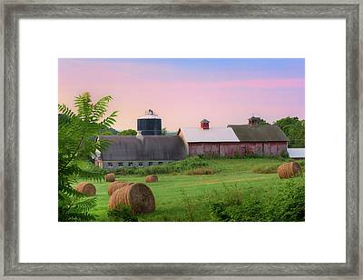 Framed Print featuring the photograph Old New York by Bill Wakeley