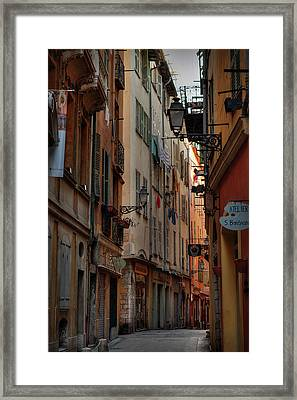 Old Nice - Vieille Ville 005 Framed Print