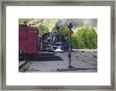 Old No. 478 Framed Print by Marla Louise