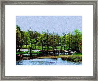 Old North Bridge Framed Print