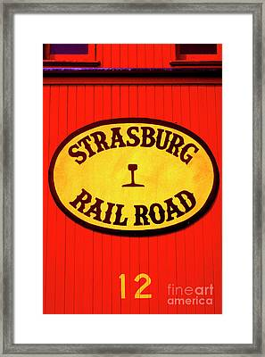 Old Number 12 Framed Print by Paul W Faust -  Impressions of Light