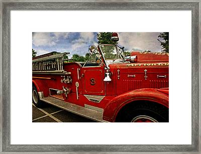 Framed Print featuring the photograph Old Number 3 by Marty Koch